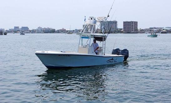 Destin Fishing Charter On 26ft