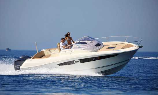 Rent 28' Cap Camrat Motor Yacht In Talmont-saint-hilaire, France