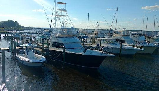 Biloxi Fishing Charter On 45' Hatteras Sportfishing Yacht With Captain Jerry