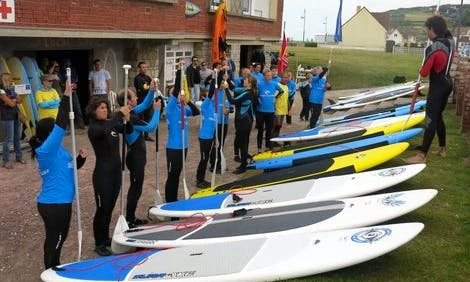 Enjoy Stand Up Paddleboard Rentals & Lessons in Hautot-sur-Mer, Normandie