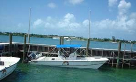 Rent 26' Center Console In Marsh Harbour, Bahamas