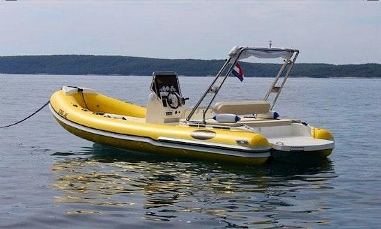Rent 23' Manta 700 Rigid Inflatable Boat In Jelsa, Hvar Island