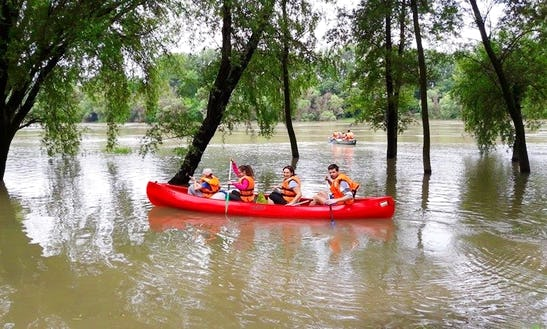 Daily Canoe Tours Great For Children In Nouvelle-aquitaine, France