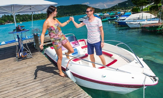 Rent A Electric Boat In Villach, Kärnten For 7 Pax