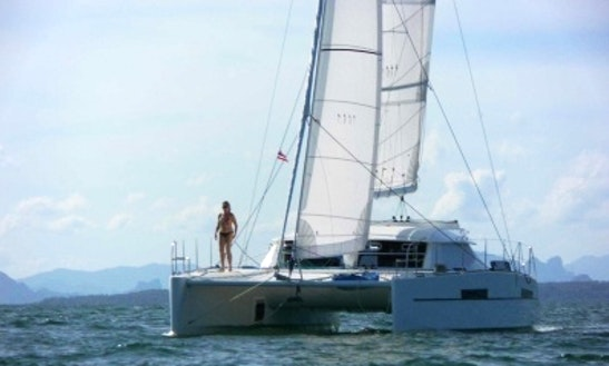 Charter 39' Black Lion Catamaran In Nouméa, New Caledonia