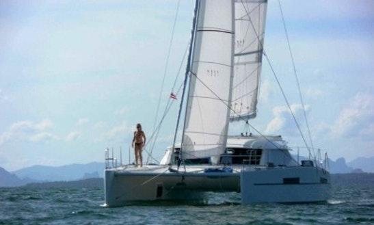 Charter 39' Black Lion Catamaran In Nouméa, New Caledonia