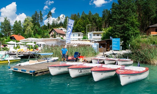 Rent An Electric Boat In Faak, Kärnten For 4 Pax