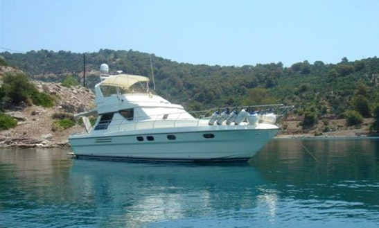 Charter 45' Princess Motor Yacht In Frosinone, Italy