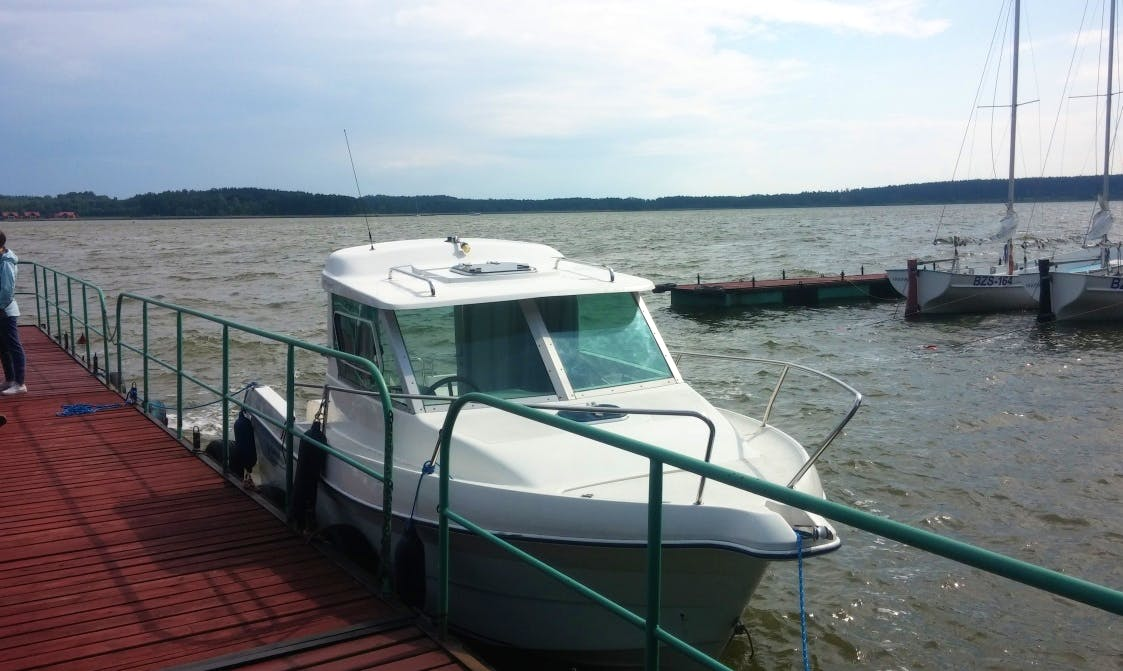 Rent 21' Quicksilver Motor Yacht in Kolonia Rybacka, Poland