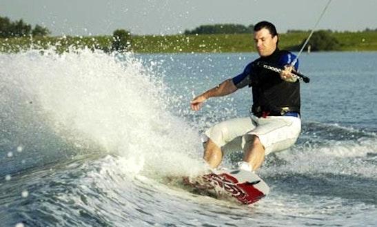 Enjoy Wakeboarding In Kortgene, Netherlands