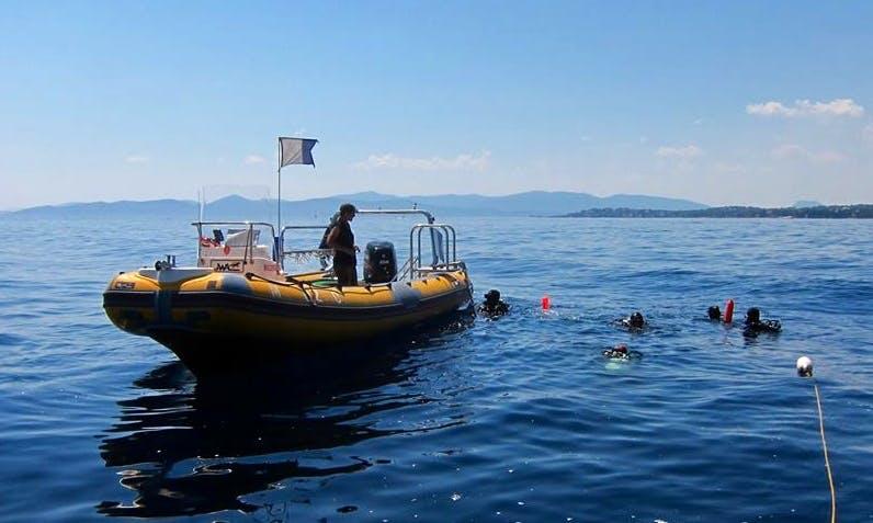 Diving Trips in Saint-Raphaël, France