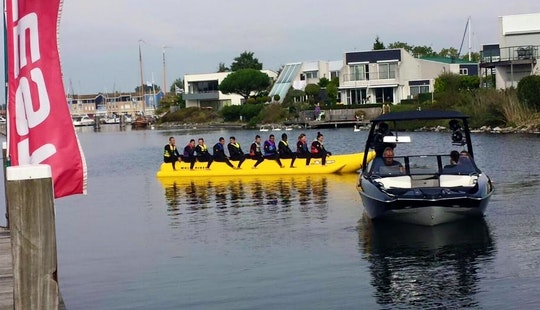Enjoy Banana Boat Rides In Kortgene, Netherlands