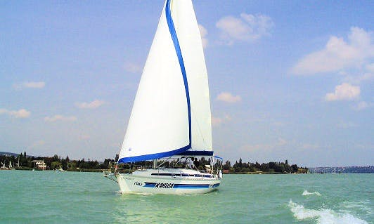 Charter 37' Fuke Cruising Monohull in Balatonvilágos, Hungary