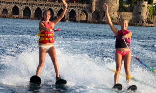 Enjoy Water Skiing In Mandelieu-la-napoule, France