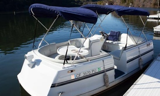 Cozy 10 People Electric Boat For Rent In Upper Lake, California