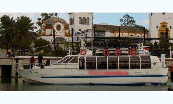"""Rent the """"Luna de Giralda"""" Passenger Boat in Gelves, Spain"""