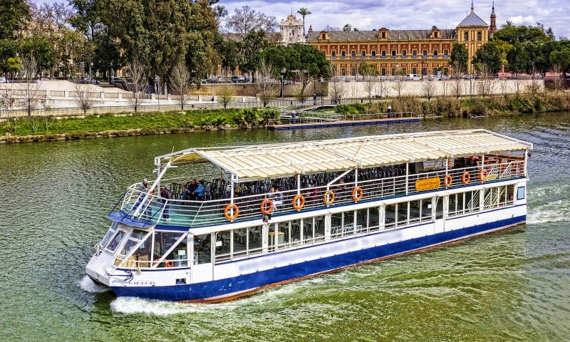 """Rent the """"Luna de Macarena"""" Passenger Boat  in Gelves"""