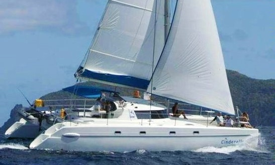 Charter This 38ft Sailing Catamaran In Cartagena, Bolívar