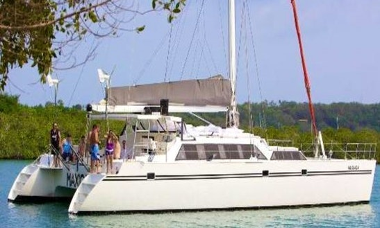 Charter This 65ft Sailing Catamaran From Cartagena, Bolívar