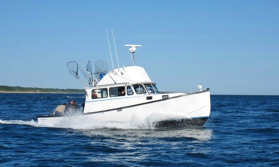35' Sport Fisherman Charter In Montauk, New York