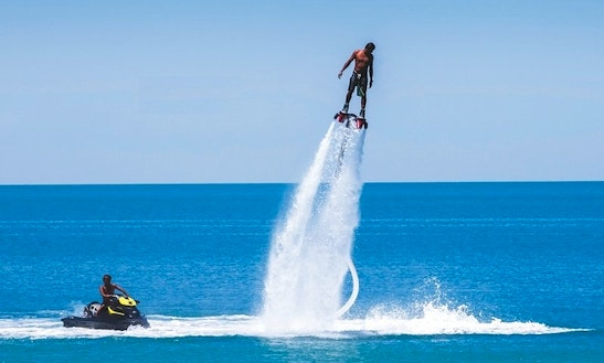 Enjoy Flyboarding In Saint-laurent-du-var, France