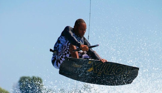 Enjoy Wakeboarding Lessons In Saint-laurent-du-var, France