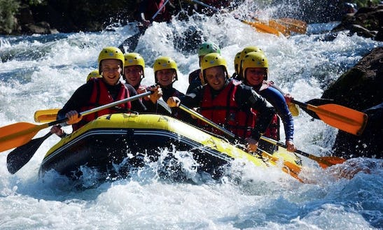 Enjoy Rafting Trips In Metz-tessy, France.