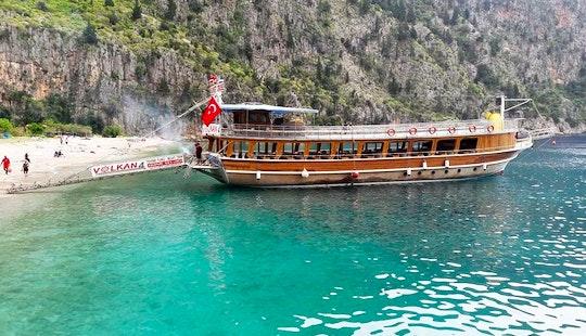 Sightseeing Tours Aboard A Turkish Boat In Muğla, Turkey