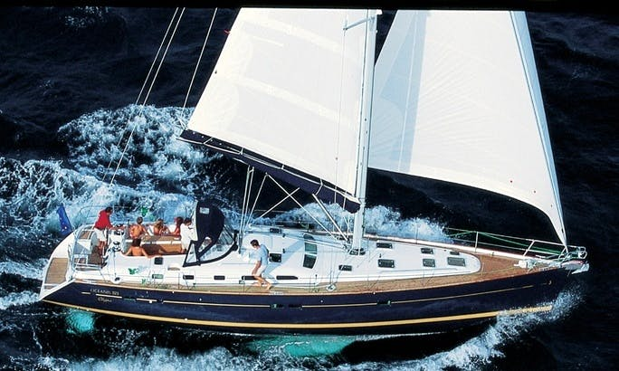 Charter 52' Beneteau Oceanis 523 Cruising Monohull in Maltese Islands, Malta