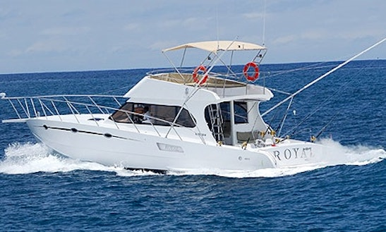 Enjoy Fishing In Flacq, Mauritius On 57' Cuddy Cabin