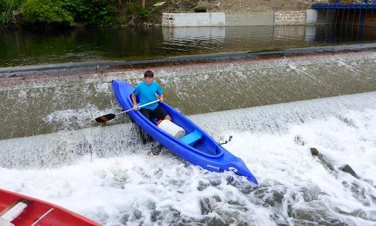 Enjoy Canoe Rentals In Hrádek Nad Nisou, Czech Republic