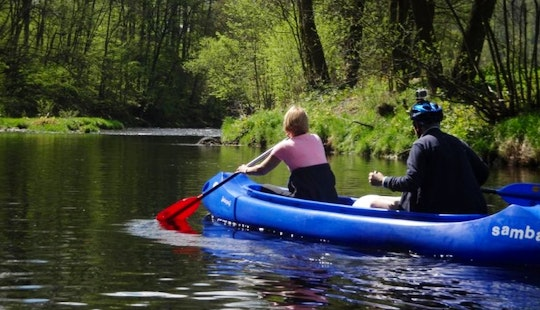 Rent A Double Kayak In Malá Skála, Czechia