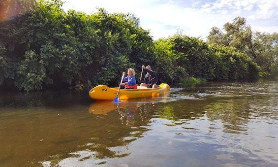 Enjoy Double Canoe Rentals In Hrádek Nad Nisou, Czech Republic