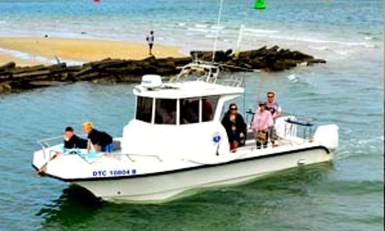Enjoy Fishing In Durban, Kwazulu-natal On 26' Lee Cat Center Console