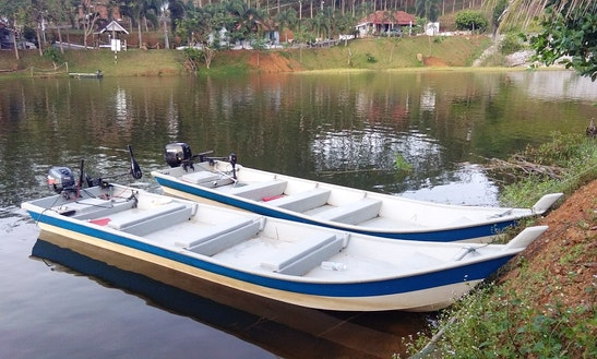 Enjoy Fishing In Sik, Malaysia On A Dinghy