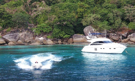 Charter 54' Princess Power Mega Yacht In Koh Keaw, Phuket