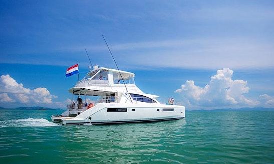 Charter 51' Leopard Power Mega Yacht In Koh Keaw, Phuket
