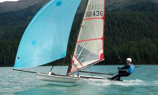 Lake St. Moritz Sailing Dinghy Rental
