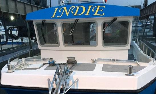 Enjoy Fishing In Gosport Ferry Terminal, Gosporton On 33' Power Catamaran