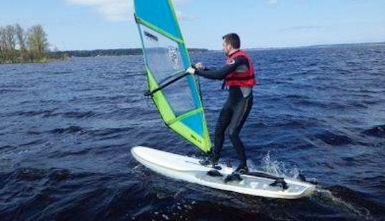 Enjoy Windsurfing In Rīga, Latvia