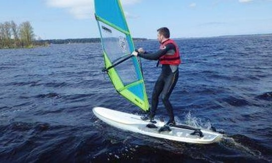 Enjoy Windsurfing In Rīga, Latvia
