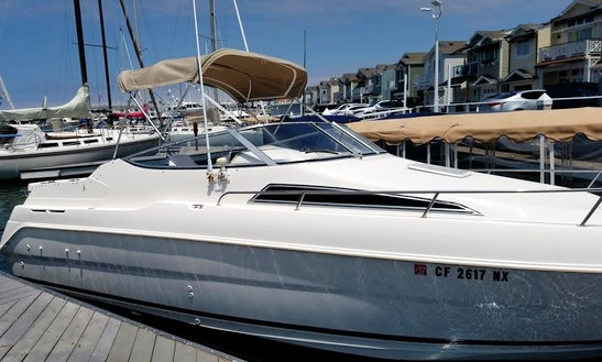 Rent The Fun And Easy To Operate 27' Express Cruiser In Newport Beach, California
