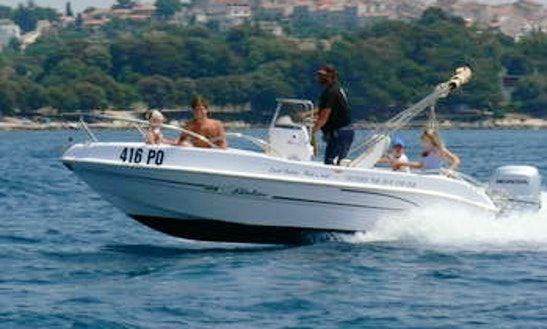 Bluline 19 Center Console For 7 Person In Vrsar, Croatia