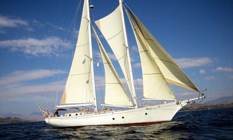 "Captained Charter on Sailing Schooner ""Isaura do Mar"" in Lagos, Portugal"