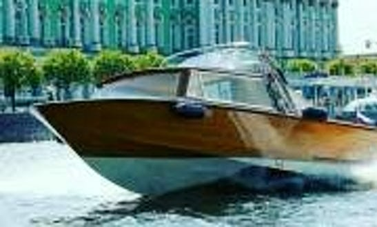 Enjoy The Saint Petersburg, Russia On A Power Mega Yacht