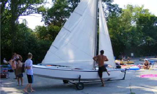 Rent 16' Buccaneer Sailing Dinghy In Balatonföldvár, Hungary