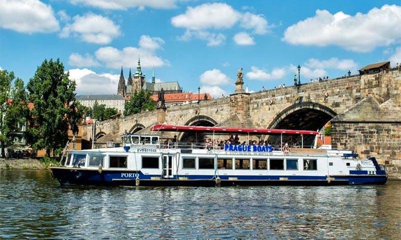 Enjoy River Cruise in Prague, Czech Republic