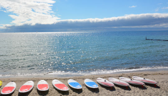 Experience Spectacular Beaches Of Großenbrode, Germany On Sup