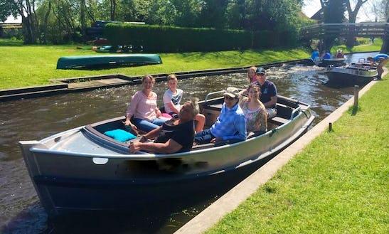 Enjoy Giethoorn, Netherlands On Luxury Electric Sloop