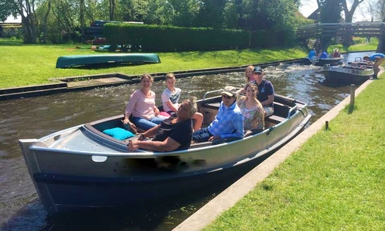 Enjoy Giethoorn, Netherlands On Luxury Electric Sloop